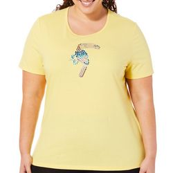 Coral Bay Plus Jeweled Toucan Top