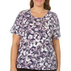 Coral Bay Plus Everyday Butterfly Top