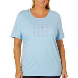Coral Bay Plus Jeweled Nautical Grid Top