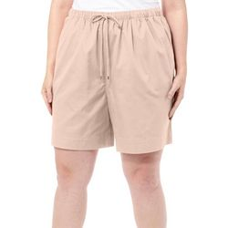 Coral Bay Plus The Everyday Pull On Drawstring Shorts