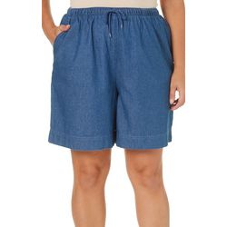 Coral Bay Plus Pull On Drawstring Shorts