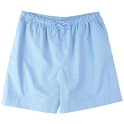 Coral Bay Plus Drawstring Solid Shorts