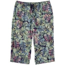 Coral Bay Plus Pull On Jungle Capris