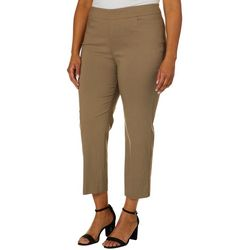 Zac & Rachel Plus Pull-On Ultimate Fit Ankle Pants