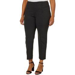 Zac & Rachel Plus Solid Pull On Comfort Pants