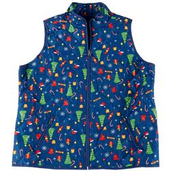 Jason Maxwell Women's Quilted Christmas Vest