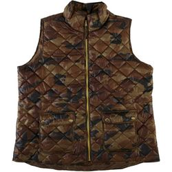 Jason Maxwell Women's Quilted Camo Vest