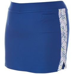 Plus Dotted Print Panel Skort