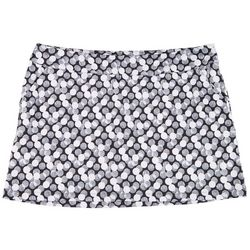 Coral Bay Golf Plus Dot Print Pull On