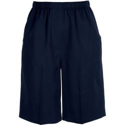 Alia Plus Microfiber Bermuda Shorts