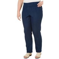 Alia Plus Tech Stretch Slim Leg Pants