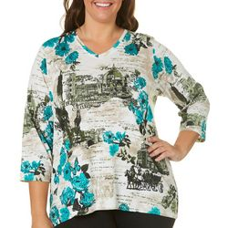 Alia Plus Florence City Top