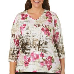 Alia Plus Spain City Top