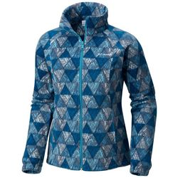Columbia Plus Benton Springs Full Zip Triangle Fleece Jacket