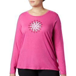 Columbia Plus Tested Tough Ribbon Graphic Long Sleeve Top