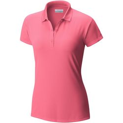 Columbia Plus Innisfree Solid Button Placket Polo Shirt