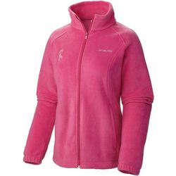 Columbia Plus Tough Pink Fleece Jacket