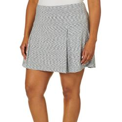 Reel Legends Plus Keep It Cool Space Dyed Contour Skort