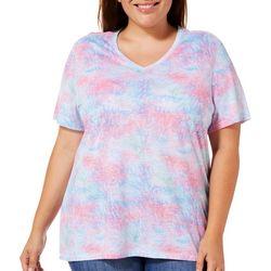 Reel Legends Plus Coral Escape T-Shirt