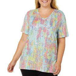 Reel Legends Plus Reel Fresh Colorful Tracks T-Shirt