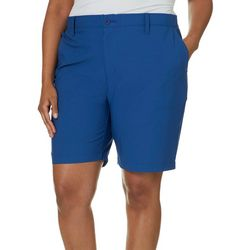 Reel Legends Plus Comfort Waist Solid Bermuda Shorts