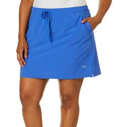 Reel Legends Plus Adventure Solid Drawstring Skort