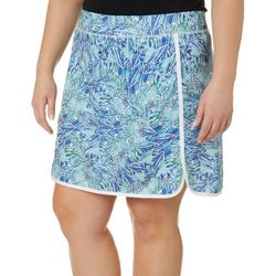 Reel Legends Plus Keep It Cool Winged Water Skort
