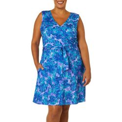Reel Legends Plus Keep It Cool Underwater Jungle Dress