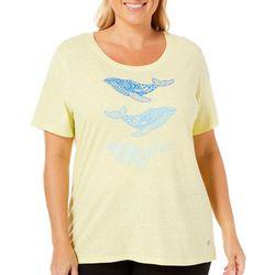 Reel Legends Plus Reel Fresh Whale Trio T-Shirt