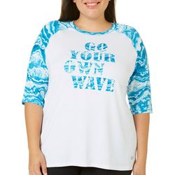 Reel Legends Plus Keep It Cool Go Your Own Wave Top