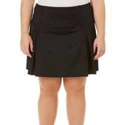 Reel Legends Plus Keep It Cool Debossed Skort