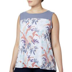 Plus Chill River Graphic Sleeveless Top