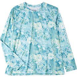 Columbia Plus PFG Wild Leaves Shirt