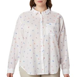 Columbia Plus PFG Sun Drifter II Tossed Elements Shirt