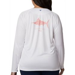 Columbia Plus Tidal Tee II Marlin Graphic Long