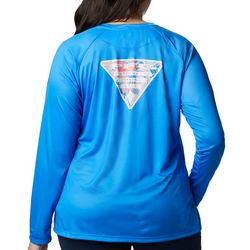 Columbia Plus PFG Tidal Triangle Graphic Long Sleeve Shirt