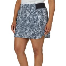 Reel Legends Plus Textured Palms Adventure Skort