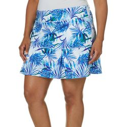 Reel Legends Plus Keep It Cool Tropical Dreams Skort