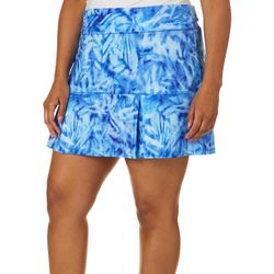 Reel Legends Plus Keep It Cool Palms Underwater Skort