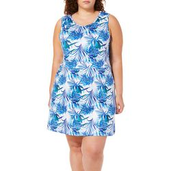 Reel Legends Plus Keep It Cool Tropical Dreams Sundress