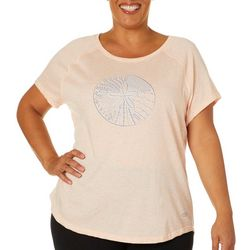 Reel Legends Plus Sand Dollar Graphic T-Shirt