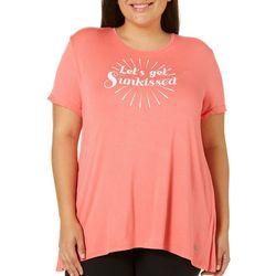 Reel Legends Plus Reel Fresh Let's Get Sunkissed T-Shirt