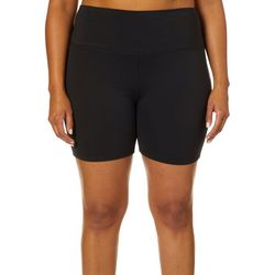 Reel Legends Plus Keep It Cool High Waisted Stretch Shorts