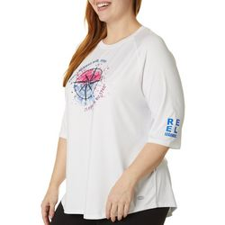 Reel Legends Womens Keep It Cool Compass Top