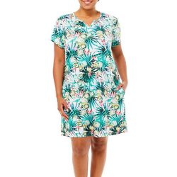 Reel Legends Plus Keep It Cool Garden Jungle Dress