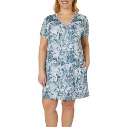 Reel Legends Plus Keep It Cool Marble Splash Dress