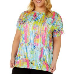 Reel Legends Plus Reel-Tec Color Tracks Print Top