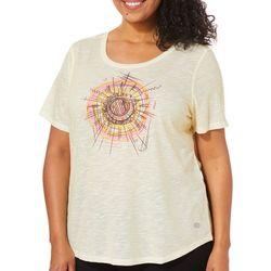 Reel Legends Plus Sketched Sun T-Shirt
