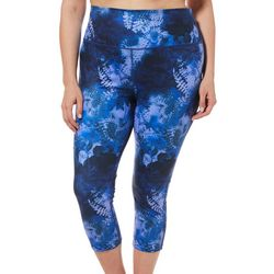 Reel Legends Plus Keep It Cool Wild Flowers Leggings