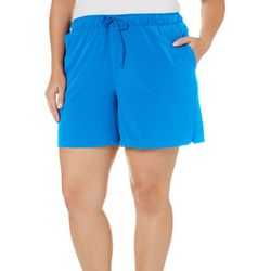 Reel Legends Plus Woven Stretch Shorts